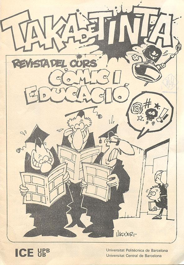 Veure No 0 Revista del curs Còmic i Educació (1982)
