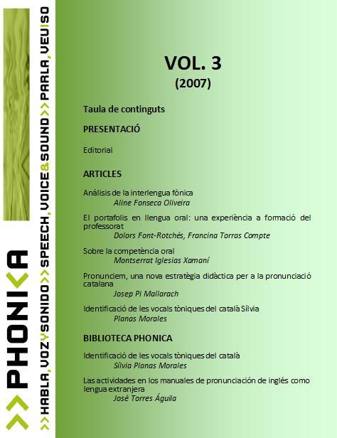 Veure Vol. 3 (2007)