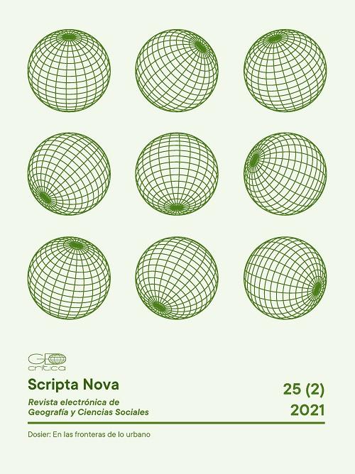 Ver Vol. 25 Núm. 2 (2021): Dosier: En las fronteras de lo urbano