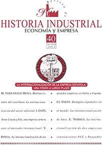 View Vol. 18 No. 40 (2009): La internacionalización de la empresa española: una visión a largo plazo