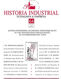 View Vol. 25 No. 64 (2016): Monográfico 2: Living Standards, Nutrition and Inequality in the Spanish Industrialisation. An Anthropometric View