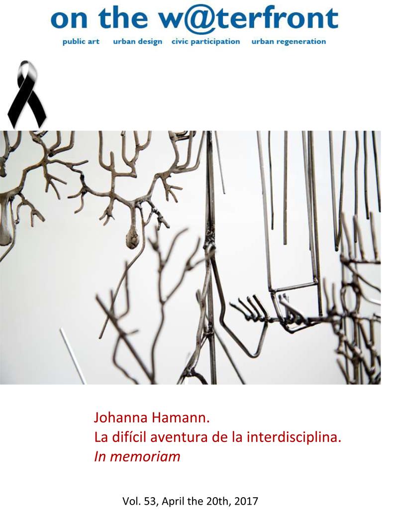 View Vol. 53 (2017): Johanna Hamann.The difficult adventure of interdiscipline. In memoriam