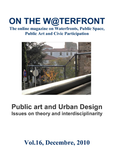 View No. 16 (2010): Public art and Urban Design. Issues on theory and interdisciplinarity