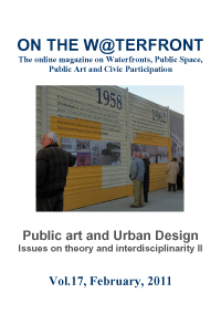 View No. 17 (2011): Public art and Urban Design. Issues on theory and interdisciplinarity II