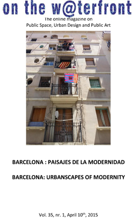 View Vol. 35 No. 1 (2015): BARCELONA: URBANSCAPES OF MODERNITY