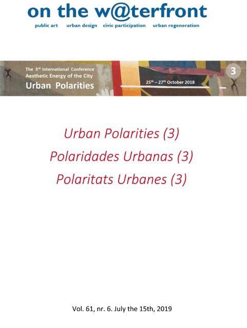 View Vol. 61 No. 6 (2019): Urban Polarities (3)