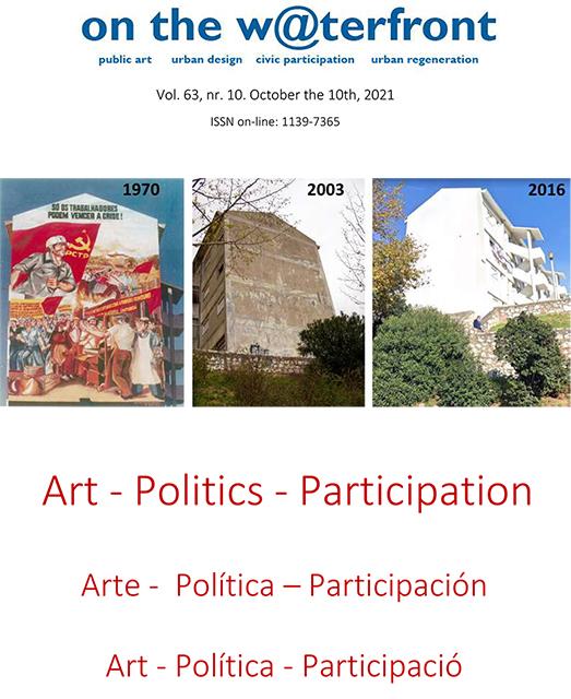View Vol. 63 No. 10 (2021): Art- Politics- Participation