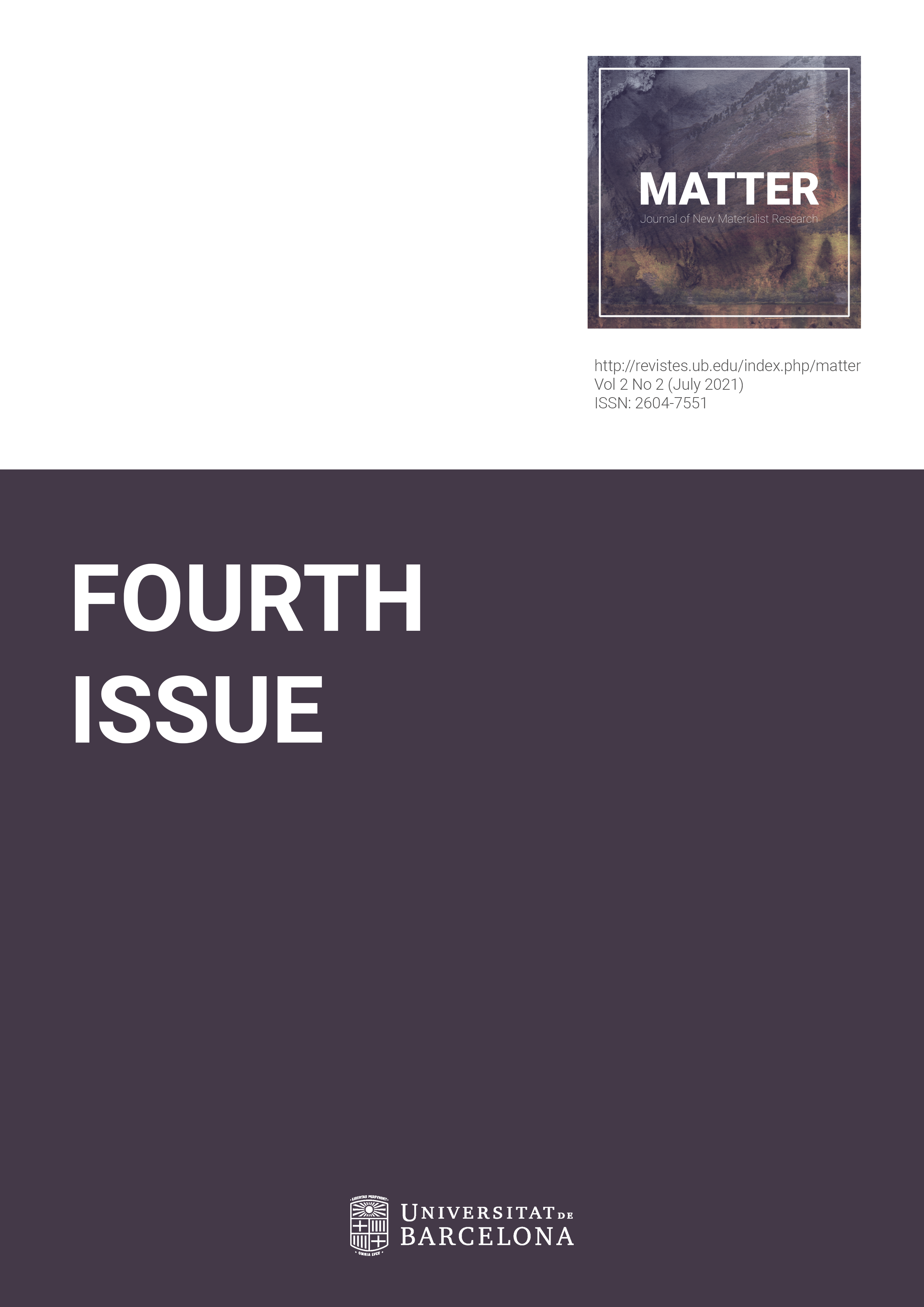 View Vol. 2 No. 2 (2021): Fourth Issue
