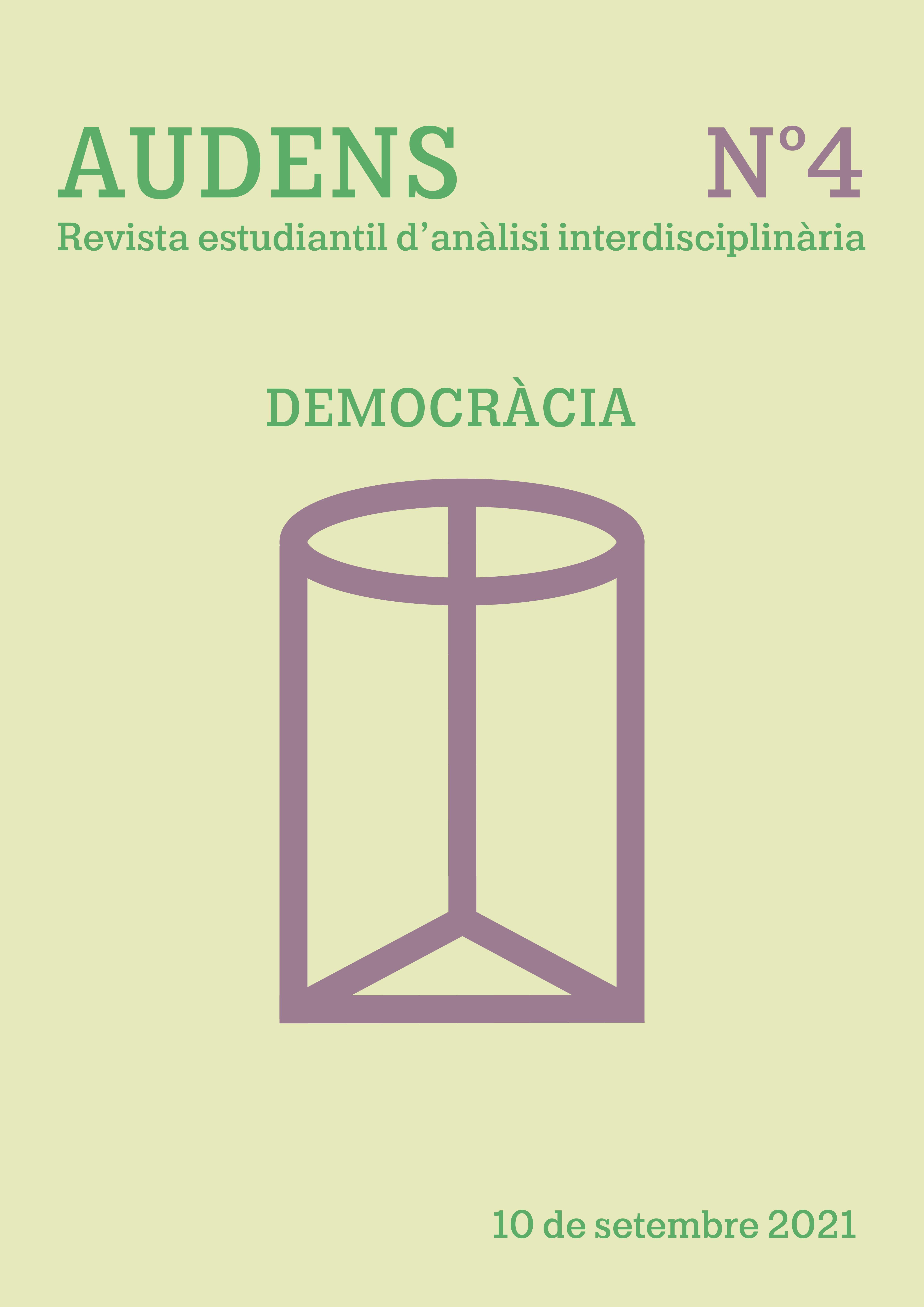 Veure No 5 (2021): Democràcia